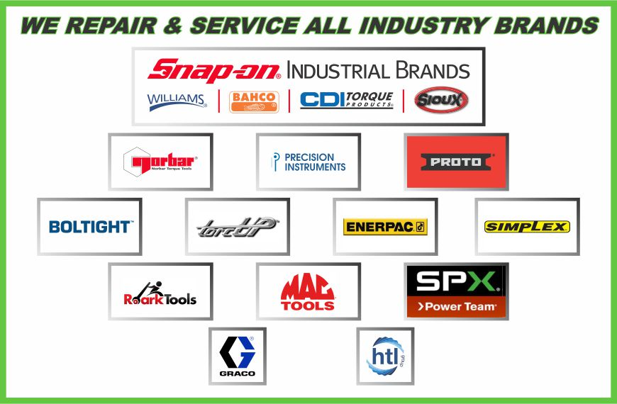 Torque Wrench Parts and Repair Services in Western Canada